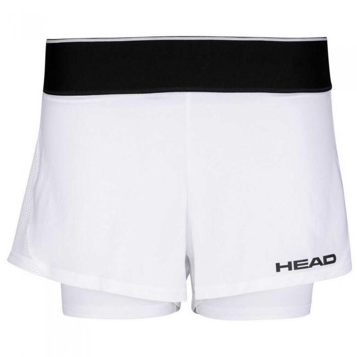 [해외]헤드 RACKET Robin Short Pants 12137933908 White / Black