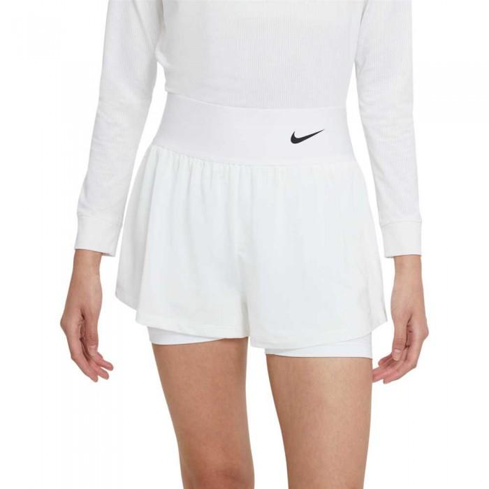 [해외]나이키 Court Advantage Short Pants 12137983813 White / White / White / Black