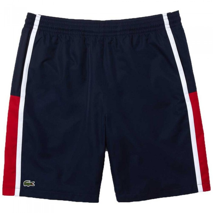 [해외]라코스테 Sport Colourblock Panels Lightweight 7137944562 Marine / Rubis-Blanc