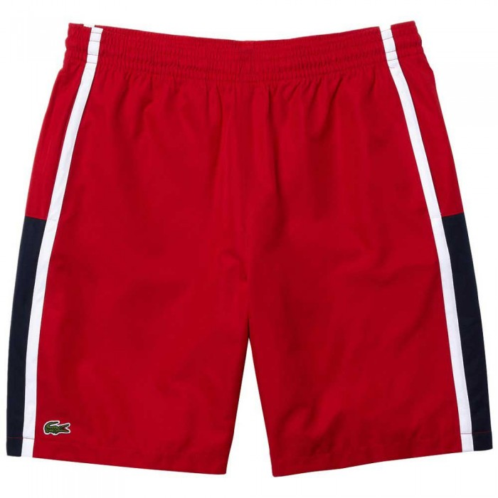 [해외]라코스테 Sport Colourblock Panels Lightweight 7137944565 Rubis / Marine-Blanc