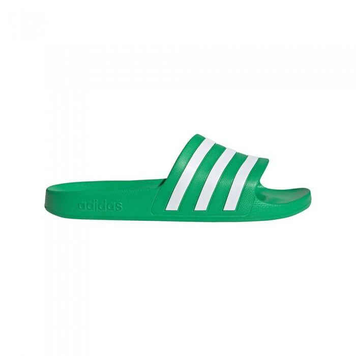 [해외]아디다스 Adilette Aqua 6137891872 Vivid Green / Ftwr White / Vivid Green