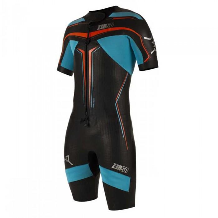 [해외]ZEROD Swimrun Elite Wetsuit 6137068740 Black / Atoll