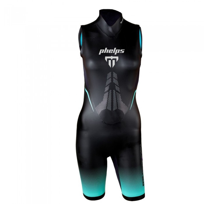[해외]아쿠아스피어 Aquaskin Shorty V3 W 6137732469 Black / Turquoise