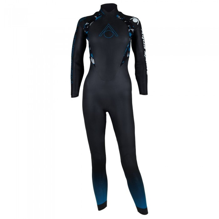 [해외]아쿠아스피어 Aquaskin V3 6137941259 Black / Turquoise