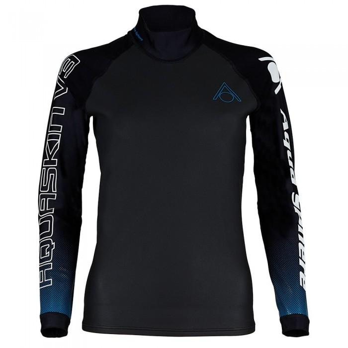 [해외]아쿠아스피어 Aquaskin V3 6137941264 Black / Turquoise