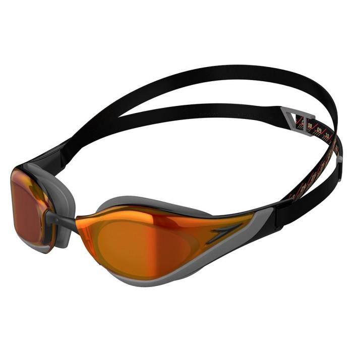 [해외]스피도 Fastskin Pure Focus Mirrored 6137927409 Black / Cool Grey / Fire Gold