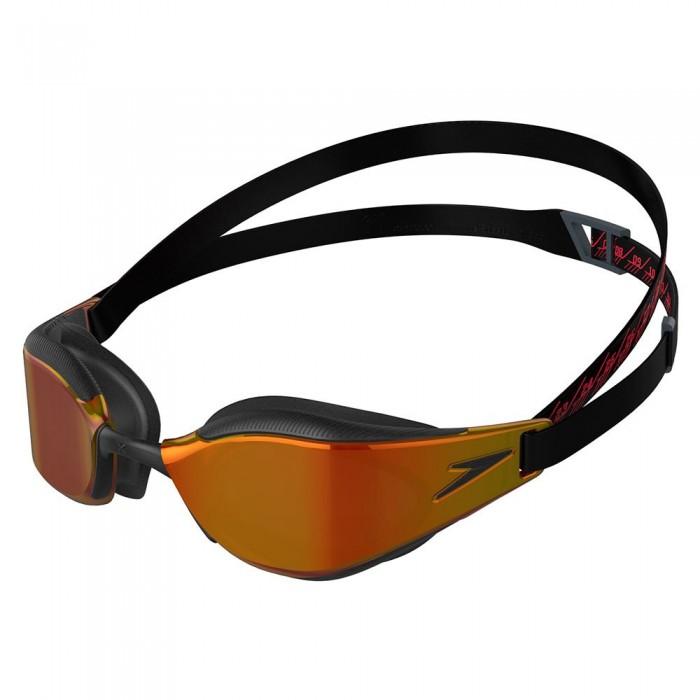 [해외]스피도 Fastskin Hyper Elite Mirrored 6137927459 Black / Oxid Grey / Fire Gold