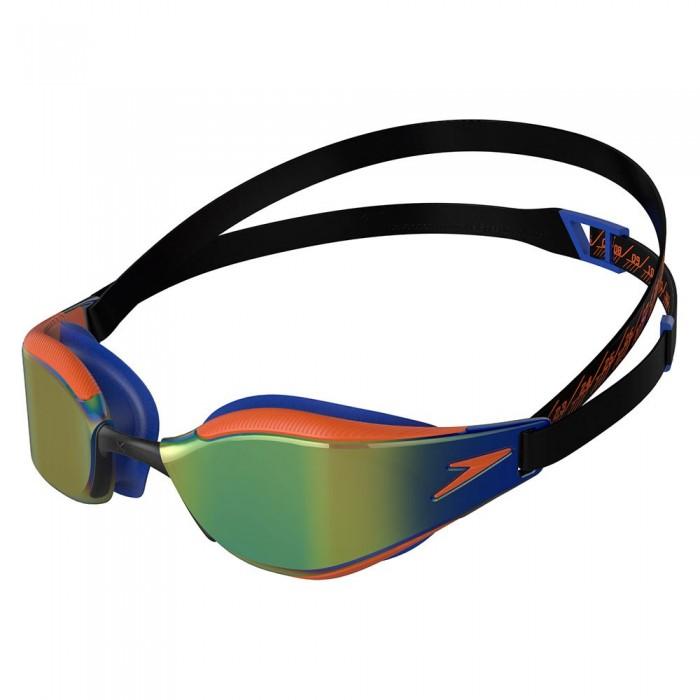 [해외]스피도 Fastskin Hyper Elite Mirrored Junior 6137927463 Black / Blue / Dragon Fire / Ocean Chrome