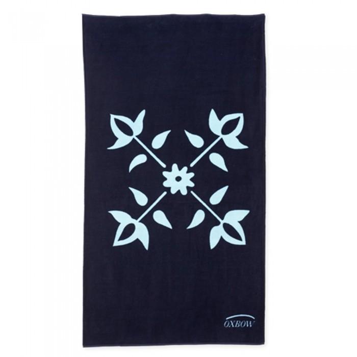 [해외]OXBOW Inizio 4F Printed Beach Towel 6137928439 Deep Marine