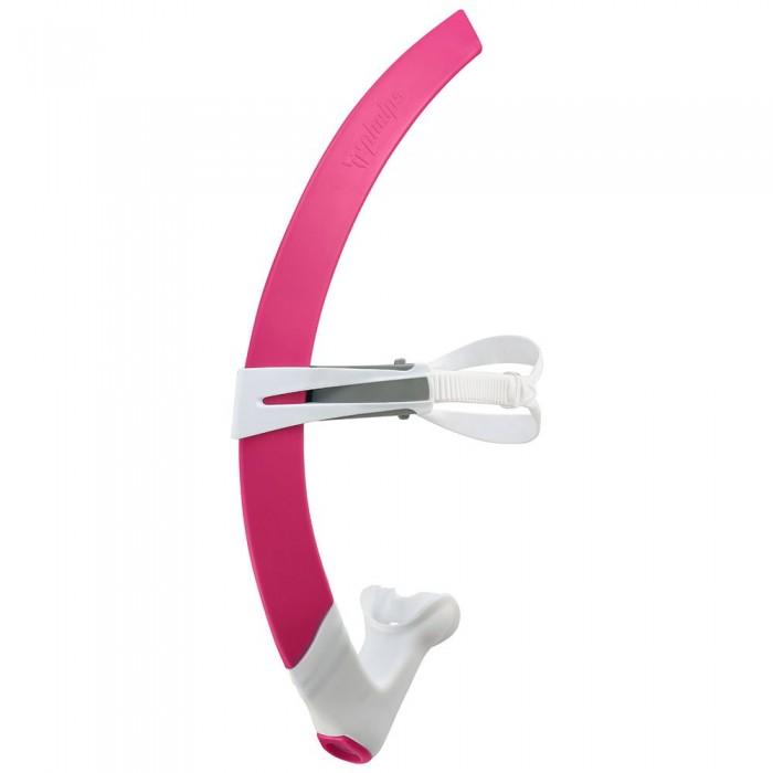 [해외]펠프스 Focus Snorkel L 6137941310 Bright Pink / White