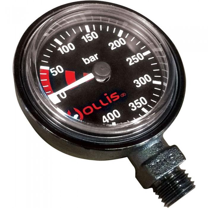 [해외]HOLLIS Low Profile Pressure Gauge Module Metal 10137186429 Black