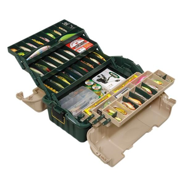 [해외]PLANO 8616-00 Hip Roof Tackle Box 8129690