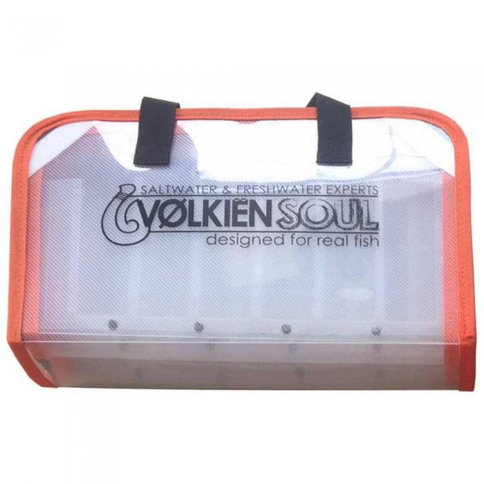 [해외]VOLKIEN SOUL Tactical Edge Caze LW 8137846789 White / Clear / Orange