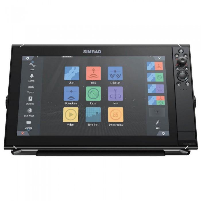 [해외]SIMRAD NSS16 evo3 Combo MFD World Basemap 8137807456 Black