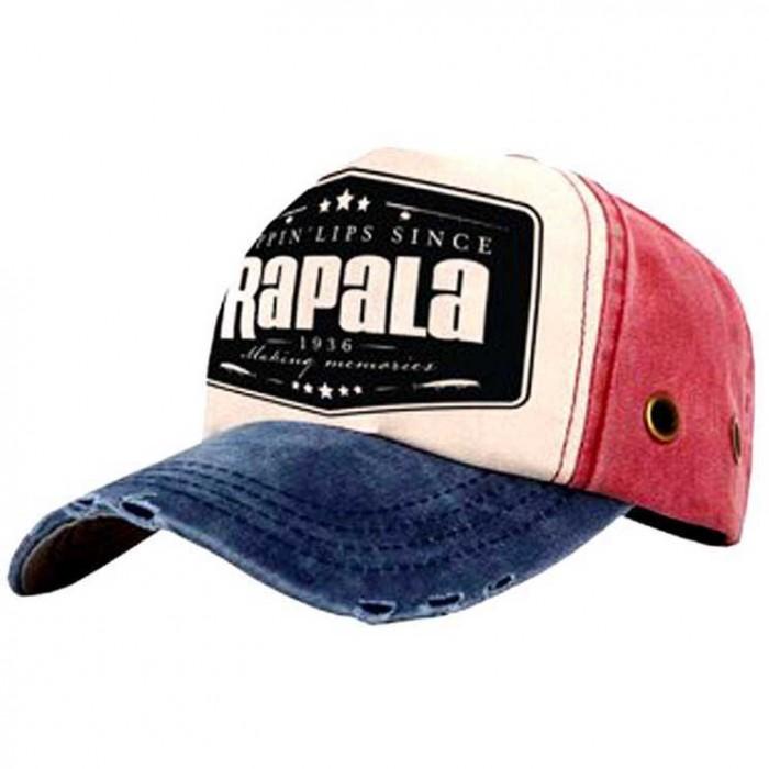 [해외]RAPALA Cap 8136991580 Red / Cream / Blue