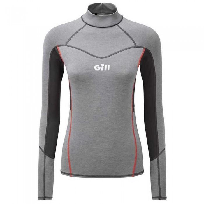 [해외]GILL Eco Pro Rash 8137923795 Grey Melange