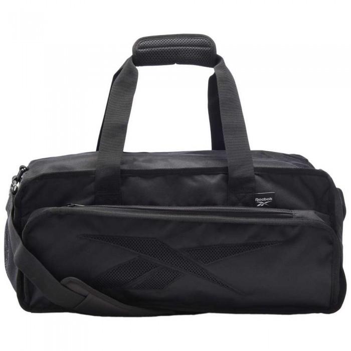 [해외]리복 United By Fitness Tech Style Grip Duffle 32L 6137939853 Black / Vista Grey