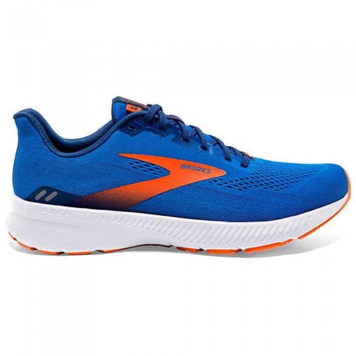 [해외]브룩스 Launch 8 6137860068 Blue / Orange / White
