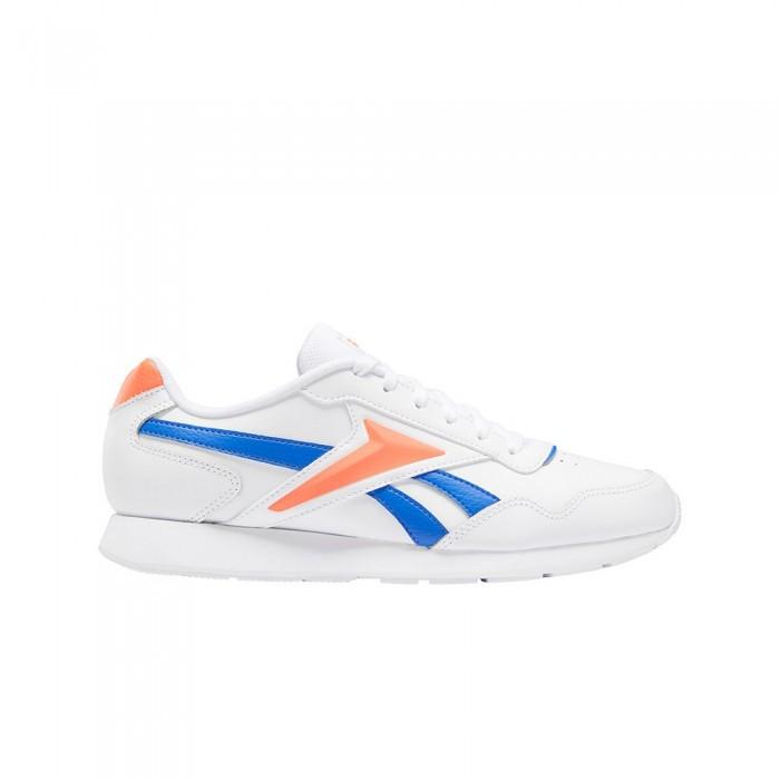 [해외]리복 Royal Glide 6137939154 White / Court Blue / Orange Flare