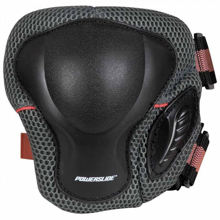 [해외]파워슬라이드 Pro Knee Pad 14137868487 Black / Red