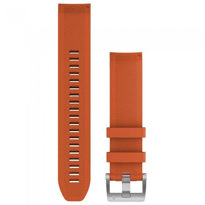 [해외]가민 QuickFit 22 Silicone Strap 7137988286 Ember Orange