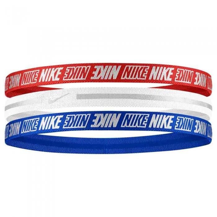 [해외]나이키 ACCESSORIES Metallic 2.0 3 Units 7137636058 Red / White / Blue