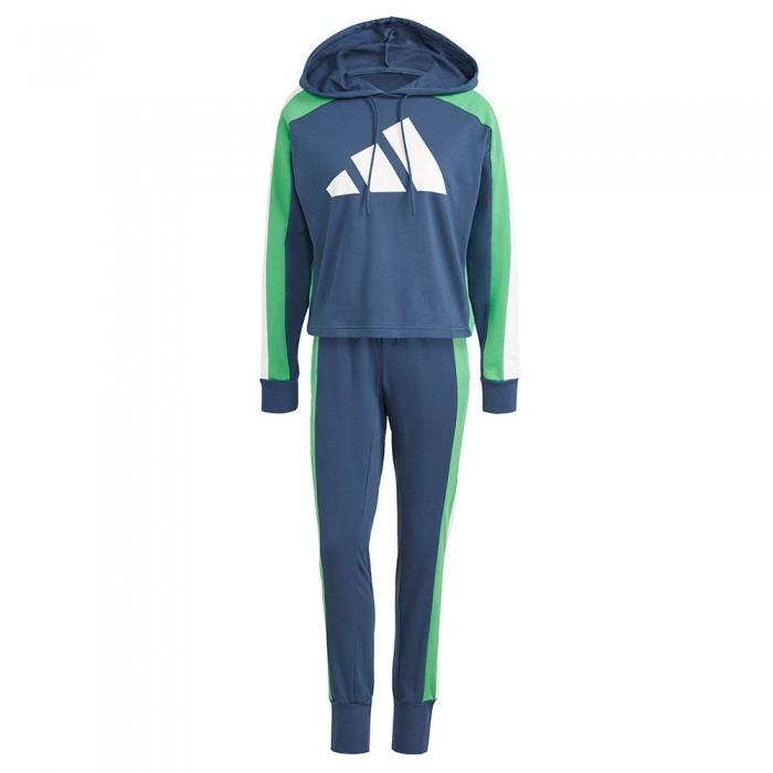 [해외]아디다스 Sportswear Badge Of Sport Logo 7137913482 Crew Navy / Vivid Green