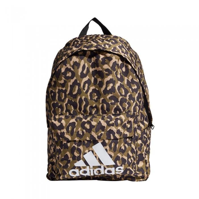 [해외]아디다스 Badge of Sport Leopard 24.75L 6137894311 Multicolor / Black / Hazy Beige / White