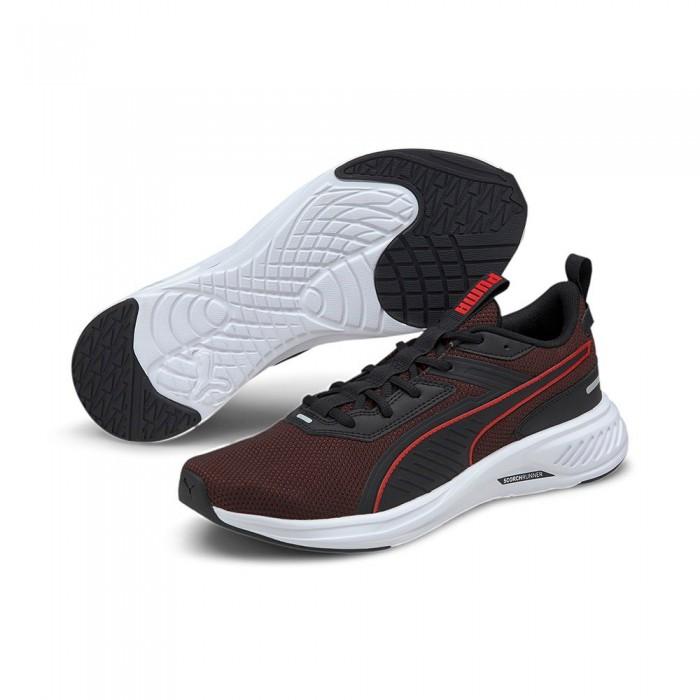 [해외]푸마 Scorch Runner 6137919735 Puma Black / High Risk Red