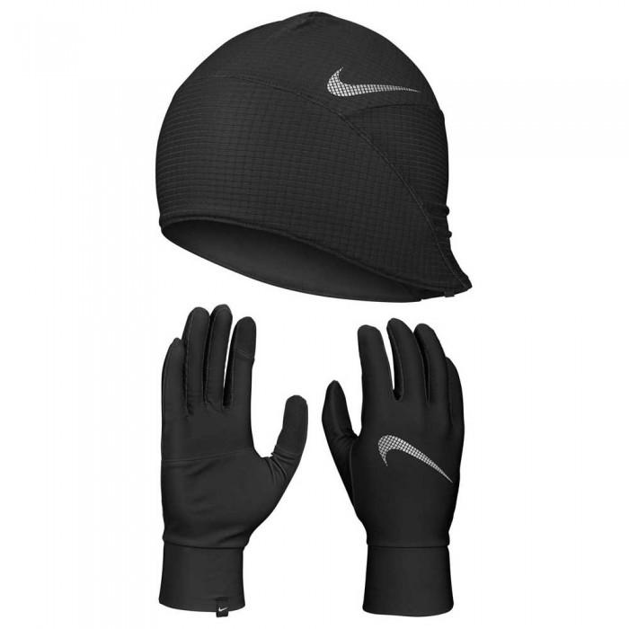 [해외]나이키 ACCESSORIES Essential Hat Set 6137635968 Black / Black / Silver