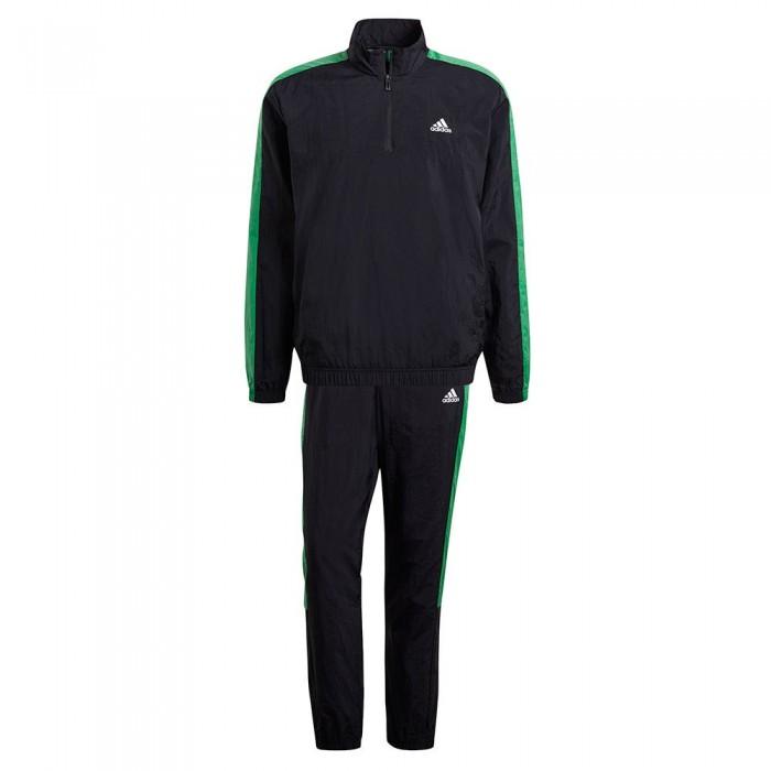 [해외]아디다스 Sportswear Woven 6137913552 Black / Black / Vivid Green