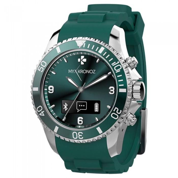 [해외]MYKRONOZ Analogic ZeClock 12137550912 Green