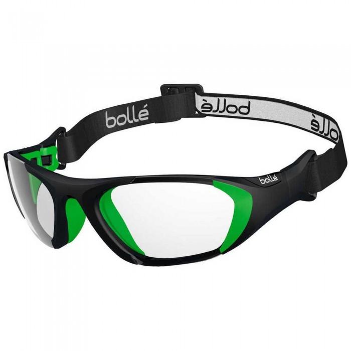 [해외]볼레 Baller Squash Glasses With Strap Junior 12137955787 Matte Black / Green