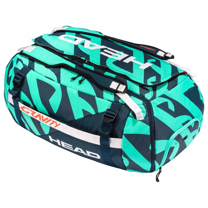 [해외]헤드 RACKET Gravity R-Pet Duffle 12137933766 Teal / Navy