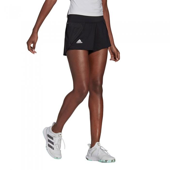 [해외]아디다스 Match Short Pants 12137925876 Black / White