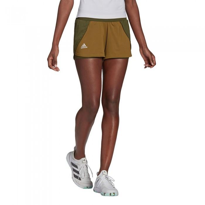 [해외]아디다스 Match Short Pants 12137925881 Wild Pine / Alumina / Wild Moss