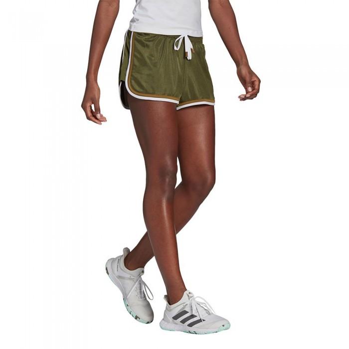 [해외]아디다스 Club Short Pants 12137926560 Wild Pine / White