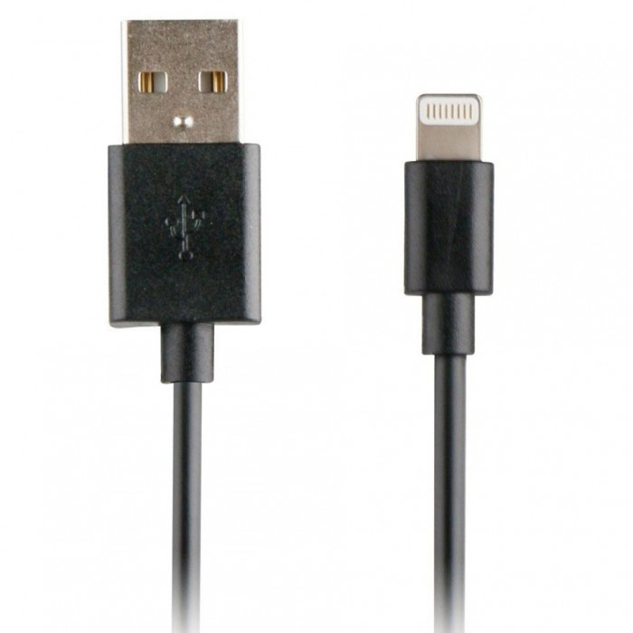 [해외]MYWAY USB Cable To Lightning 1A 1M 6137550953 Black