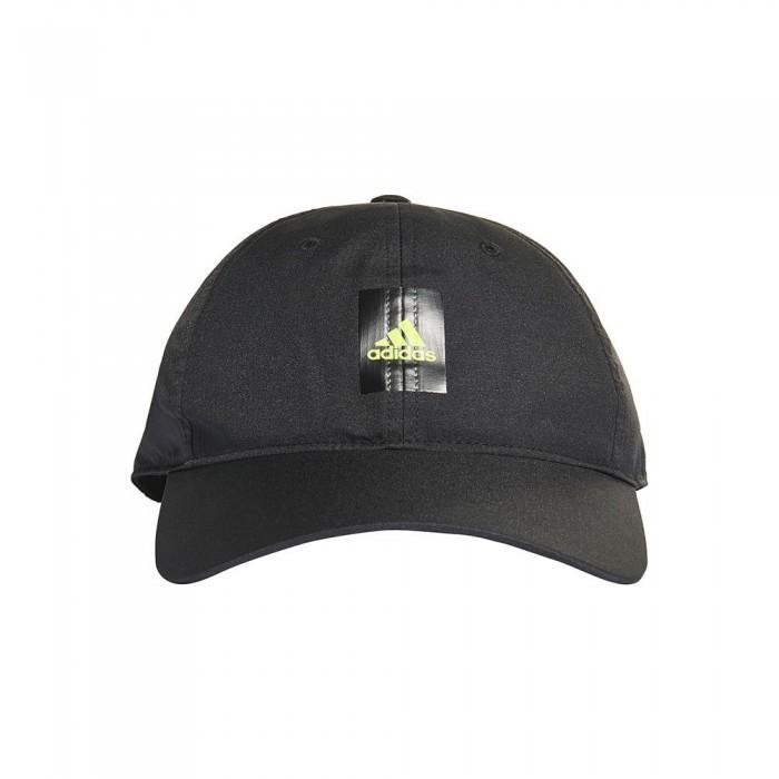 [해외]아디다스 Essentials Logo Lightweight 6137894410 Black / Solar Yellow