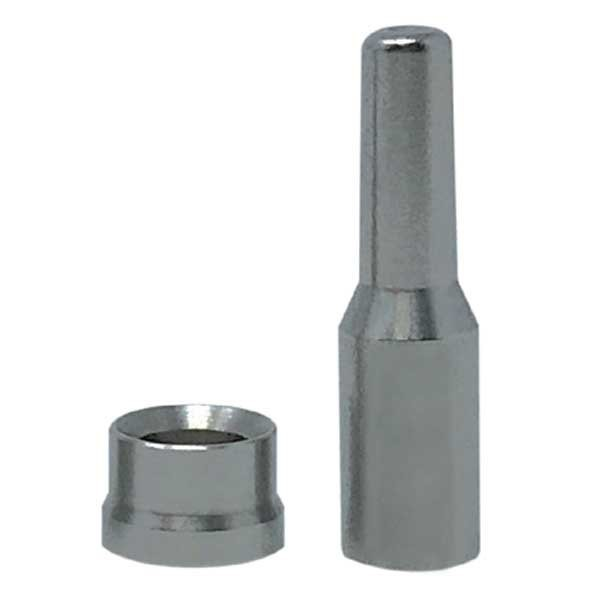 [해외]살비마 Shaft Connector For Cyrano Predathor 10 Units 10137993922 Silver