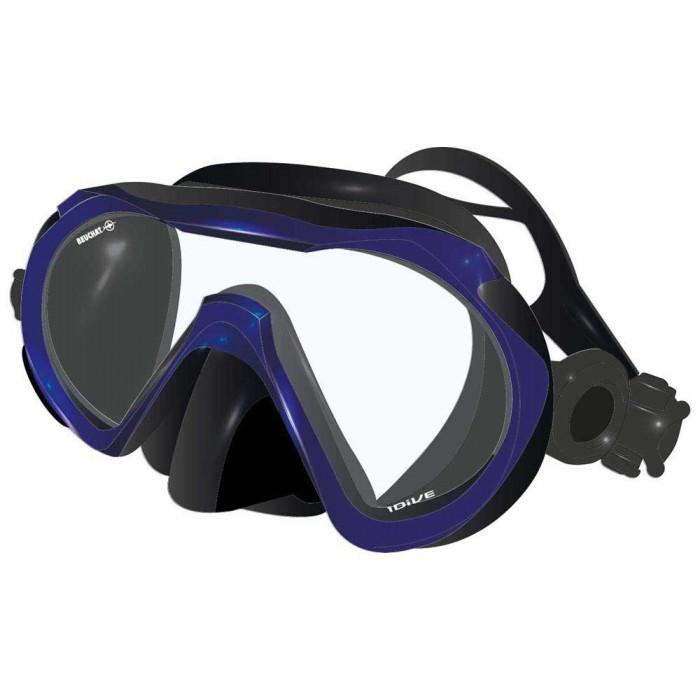 [해외]부샤 1Dive Silicone Diving Mask 10137861699 Blue Deep