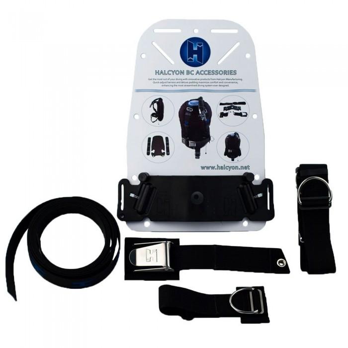 [해외]HALCYON Small Cinch Quick-Adjust Harness Upgrade 10137167505 Black
