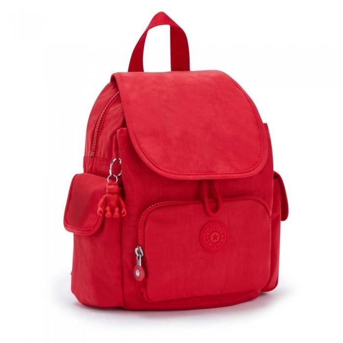 [해외]키플링 City Pack Mini Red Rouge
