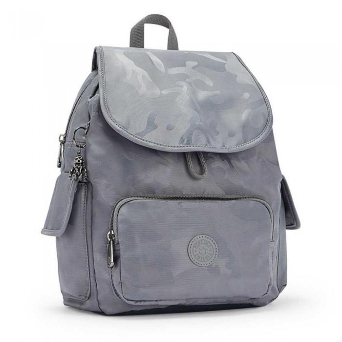 [해외]키플링 City Pack S Grey Camo Jq