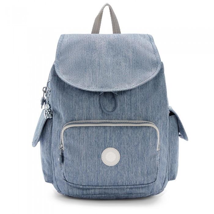 [해외]키플링 City Pack S Blue Jeans