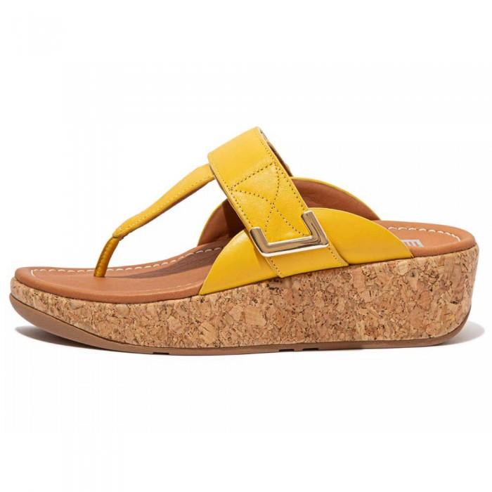 [해외]핏플랍 Remi Adjustable Sunshine Yellow