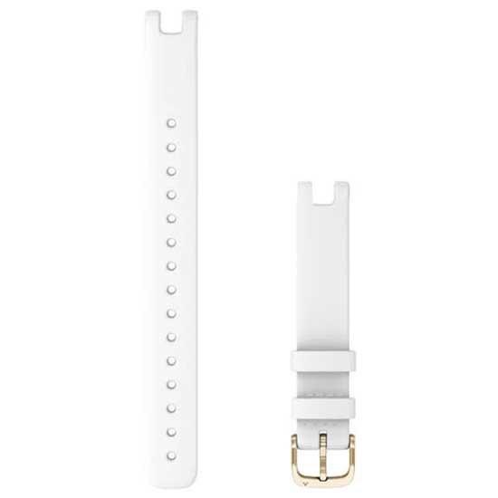 [해외]가민 Lily Leather Strap L 14 mm 7137988281 White / Cream Gold