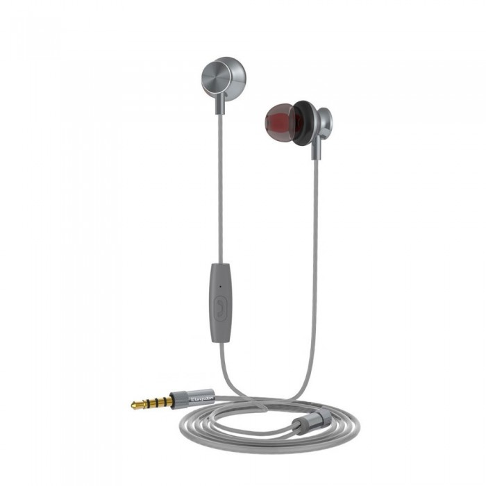 [해외]MUVIT M1I Stereo 3.5 mm Headphones 7137552778 Grey