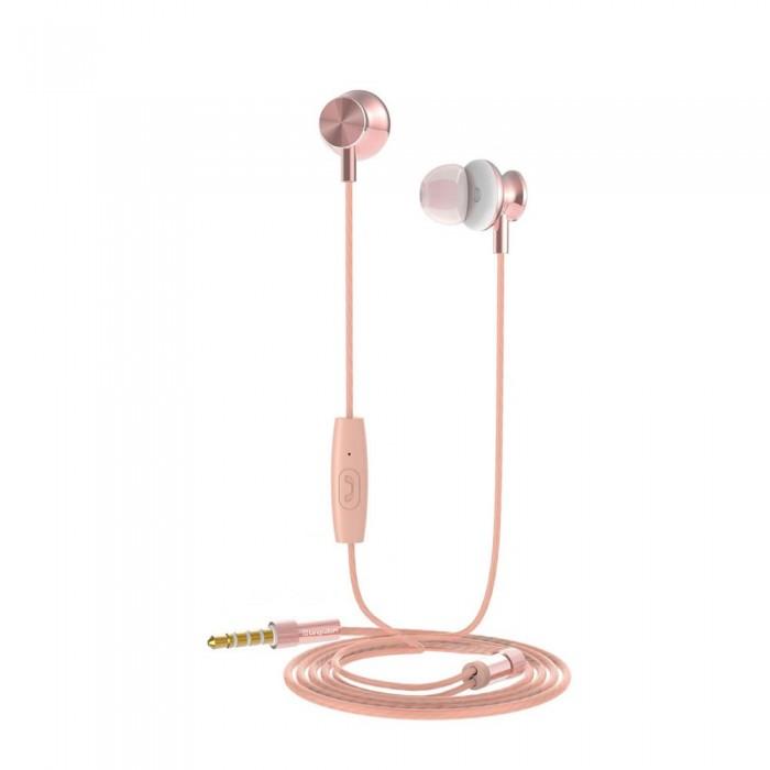 [해외]MUVIT M1I Stereo 3.5 mm Headphones 7137552780 Golden Pink