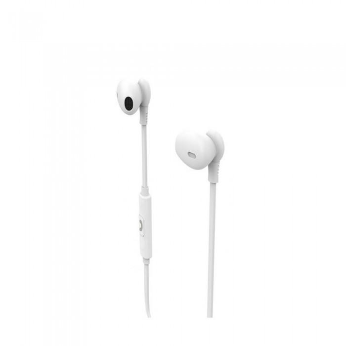 [해외]MUVIT M1C Stereo 3.5 mm Headphones 7137552781 White
